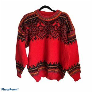 Dale of Norway 100% wool pull over sweater size L